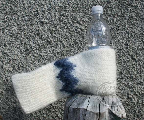 White Beer Glove - Álafoss - Since 1896