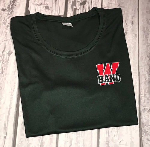 ***Required Under Uniform Item***   Band Dri Fit Ladies Tee