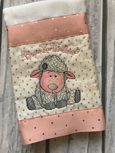 Burp Cloth Vintage Lamb