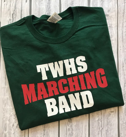 TWHS Marching Band Tee