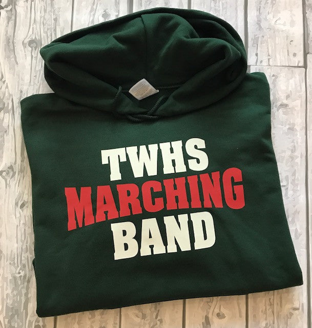 TWHS Marching Band Hoodie