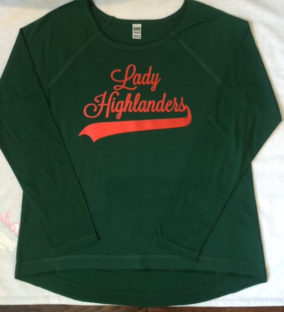 CC Lady Highlanders Long Sleeve Tee