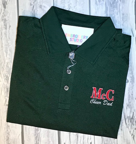 McC Cheer Dad Polo