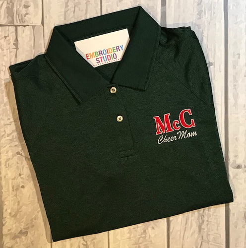 McC Cheer Mom Polo