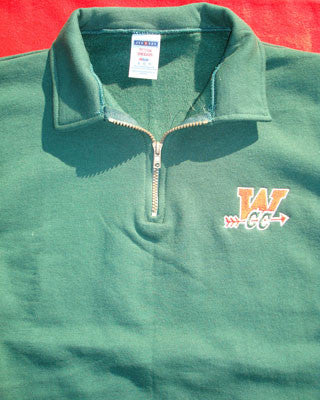 Quarter-Zip Pullover Fleece-CC