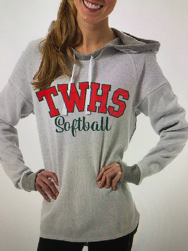 TWHS Softball Cool Down Hoodie