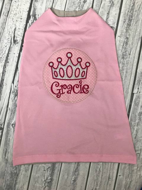 Personalized Princess Cape
