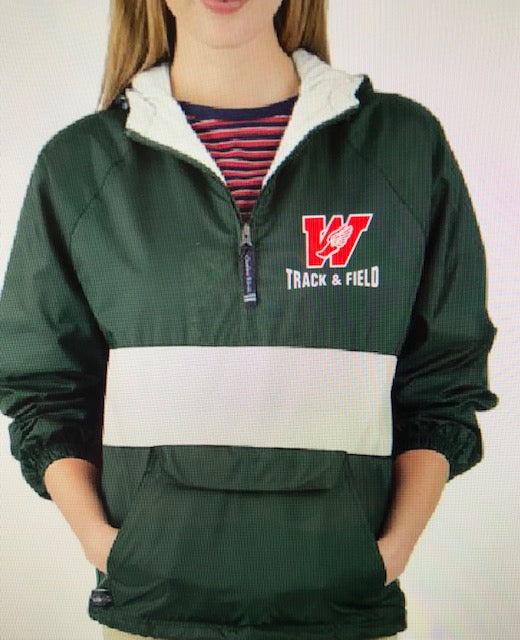Track & Field Lined Pullover