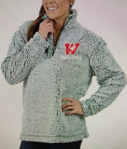 1/4 Zip W Track & Field Sherpa FROSTY HUNTER