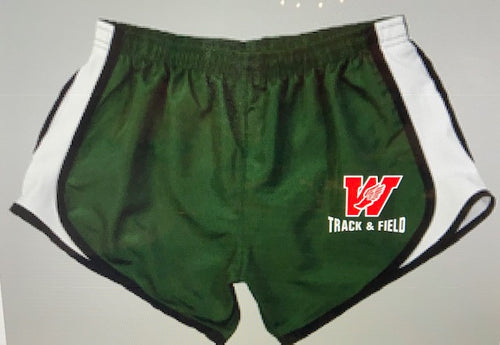 Ladies Track & Field Shorts