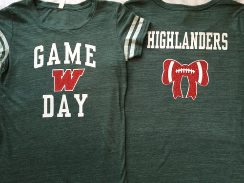W Game Day Tee