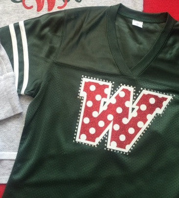 Polka Dot Football Jersey