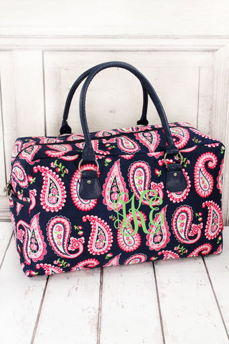 Paisley Passion Weekender Bag