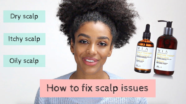 Demystifying scalp issues with @curlbellaa