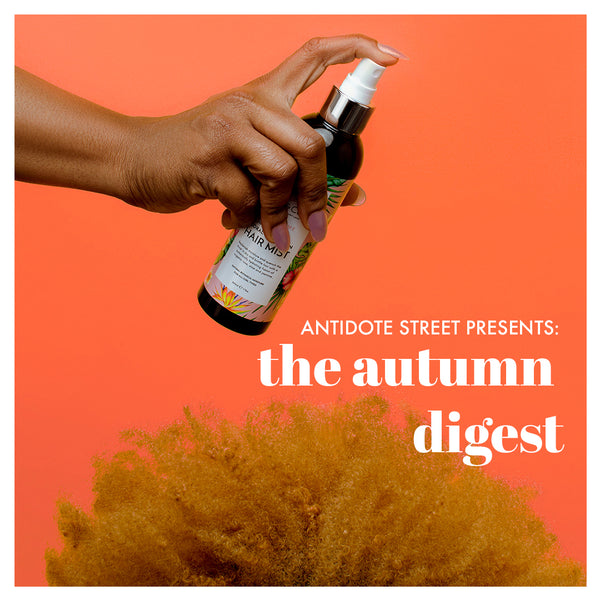 The Autumn Digest - Flora & Curl's Floral Hydration Hair Mist on AntidoteStreet.com
