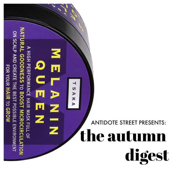 The Autumn Digest - TSAKA Beauty Black Magic Hair Mask on AntidoteStreet.com