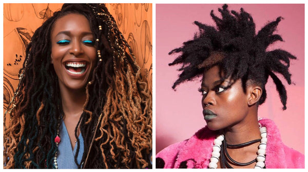 Hair should be fun - locs styles on AntidoteStreet.com