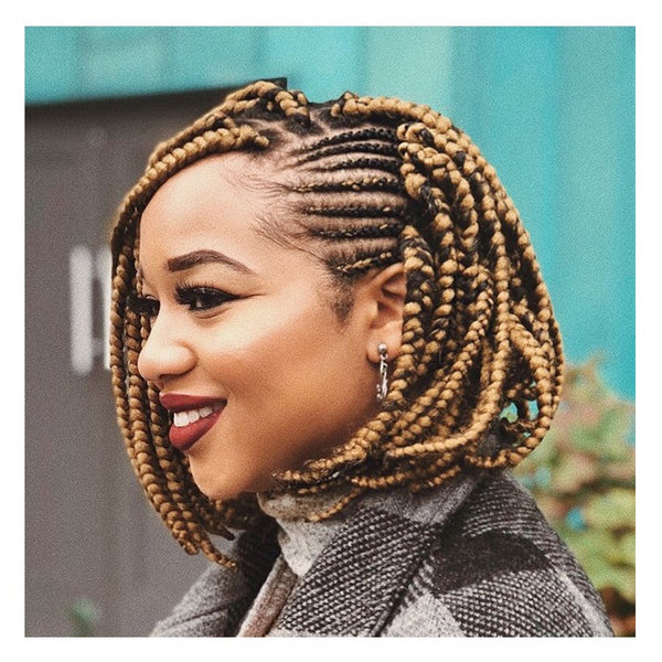 A braided bob is super chic! - - AntidoteStreet.com's Autumn Digest - 11 new ways to rock your braids