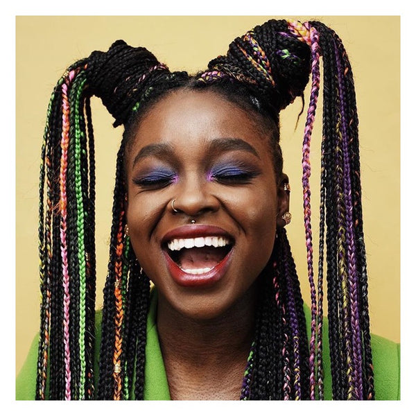 @africancreature aka Susy of @hairbysusy exudes joy in these colourful braids - AntidoteStreet.com's Autumn Digest - 11 new ways to rock your braids