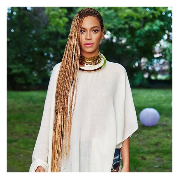 Queen Bey rocking some waist-length braids - AntidoteStreet.com's Autumn Digest - 11 new ways to rock your braids