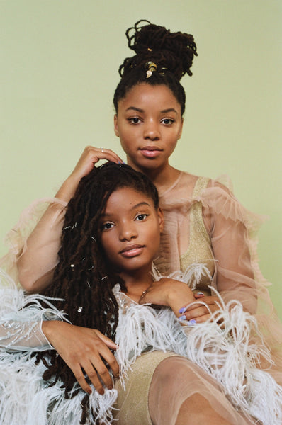Chloe and Halle, Locs muses - AntidoteStreet.com