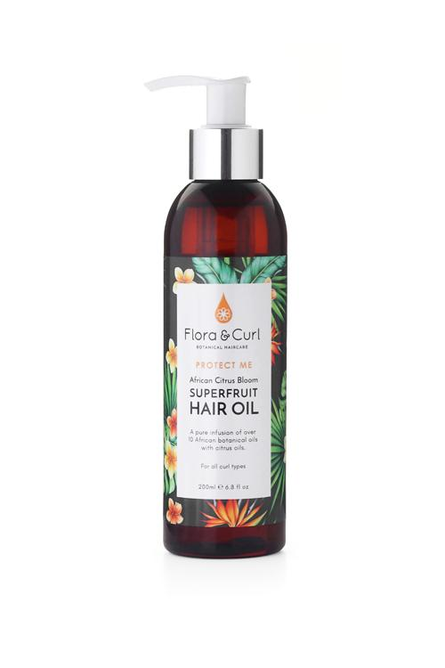 African Citrus Superfruit Hair Oil