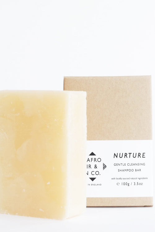 NURTURE - Gentle Cleansing Shampoo Bar, 100g / 3.5oz