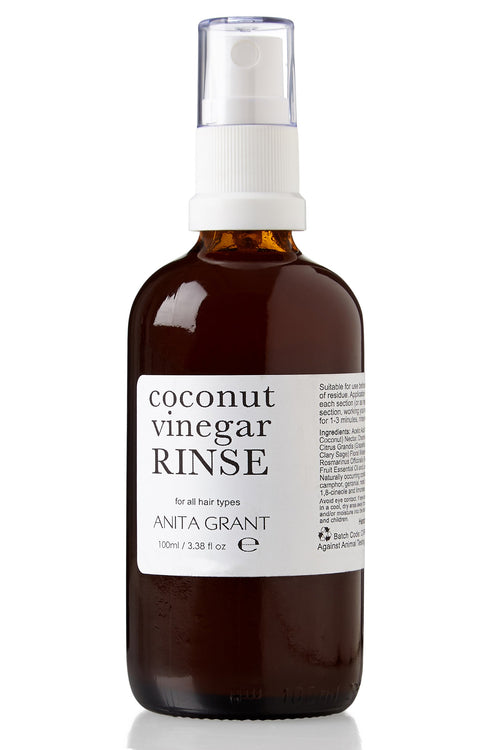 Coconut Vinegar Rinse - Herbal Hair Clarifier + Colour Sealer