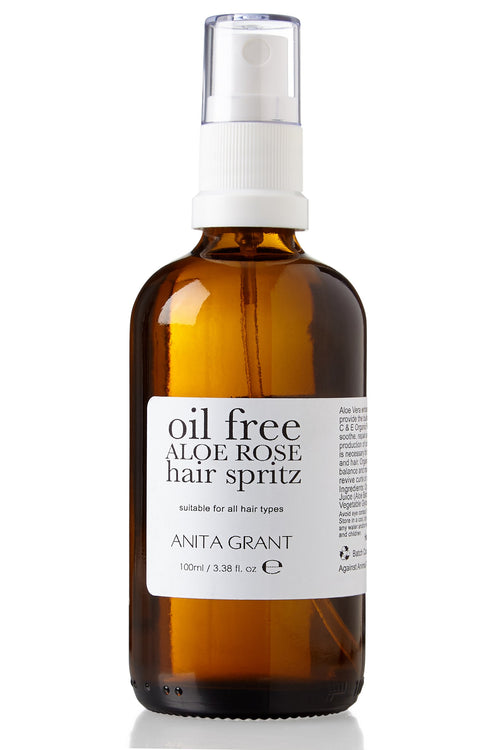 Oil Free Aloe Rose Hair Spritz - Leave In Conditioning Spray