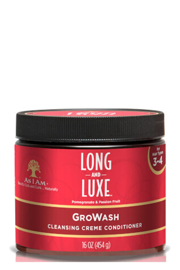 Long & Luxe GroWash Cleansing Crème Conditioner