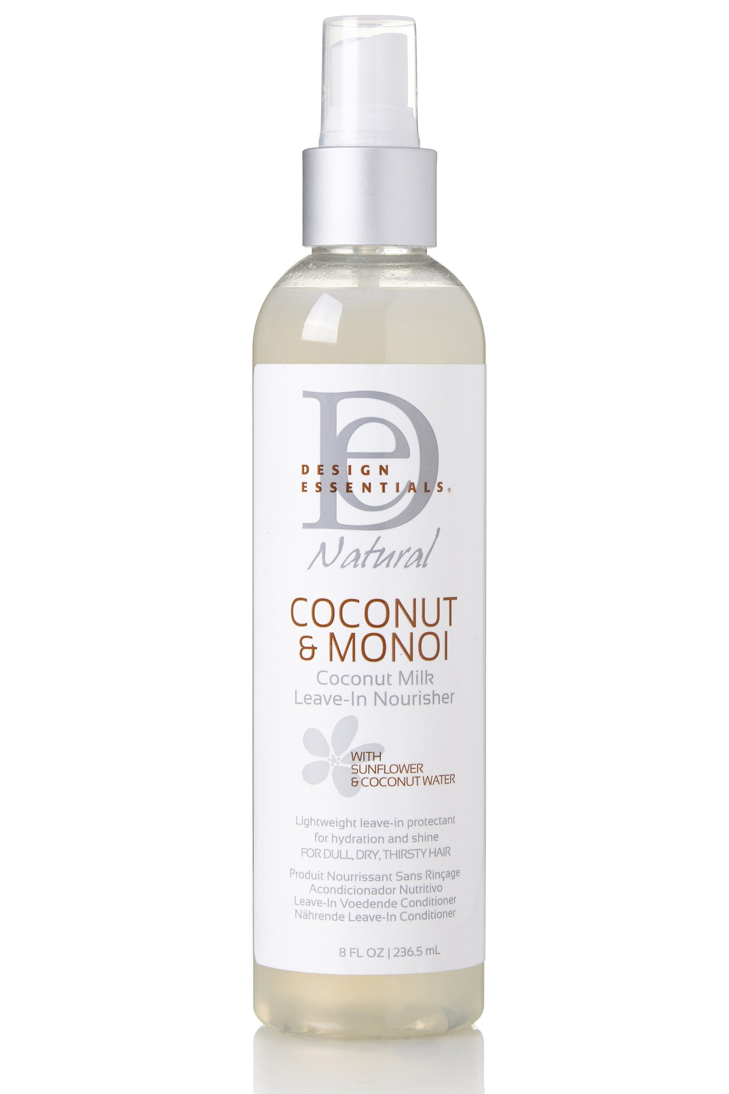 Design Essesntials Coconut Monoi Coconut Milk Leave In Nourisher