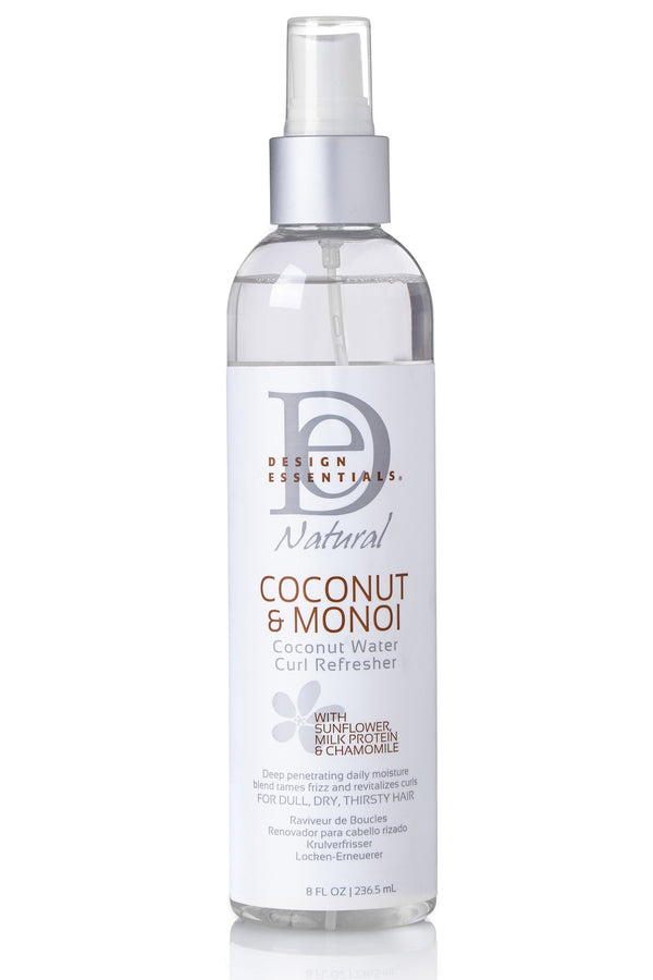Design Essentials Coconut & Monoi Coconut Water Curl Refresher on Antidotestreet.com