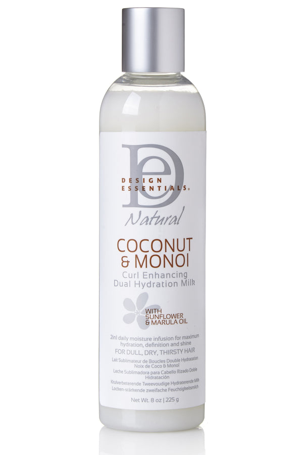 Design Essentials Coconut & Monoi Curl Enhancing Dual Hydration Milk on Antidotestreet.com