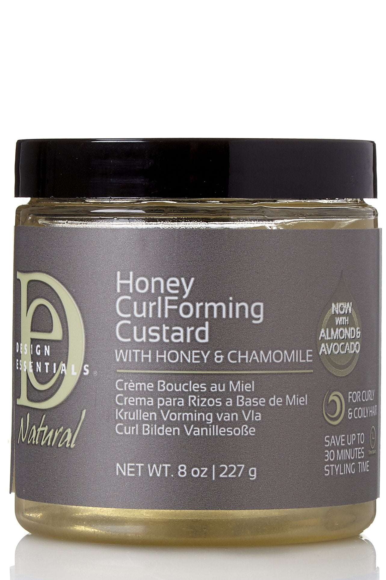 Design Essentials Natural Honey Curl Forming Custard With Honey And