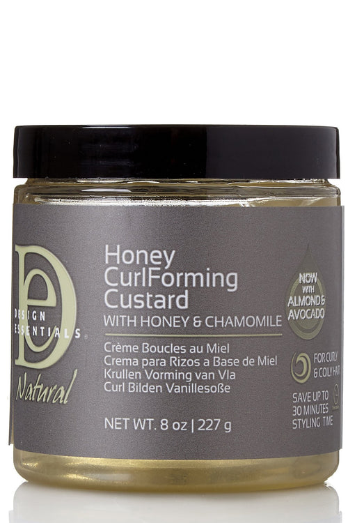 Natural Honey Curl Forming Custard with Honey and Chamomile