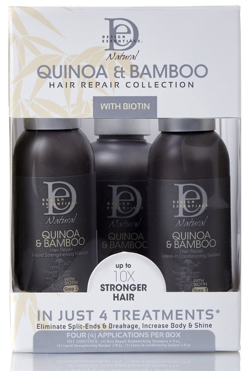 Quinoa & Bamboo Hair Repair collection with Biotin 227ml
