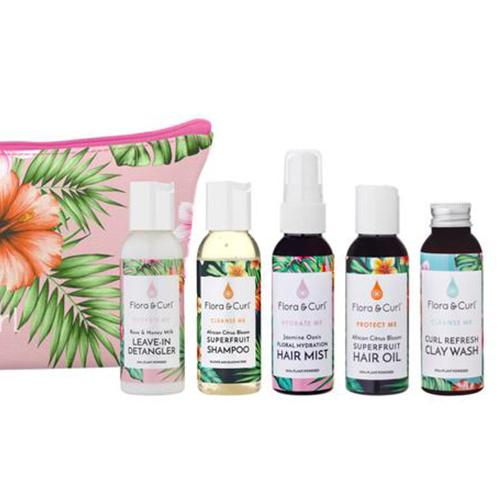 The Flora & Curl Moisture Discovery Kit - All 5 Products