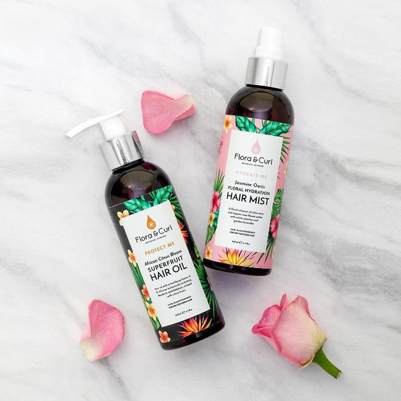 Flora & Curl Floral Hydration Hair Mist on Antidotestreet.com