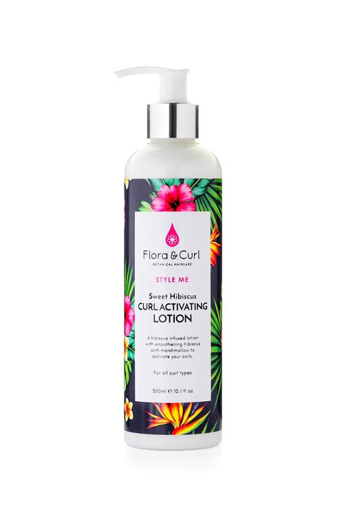 Sweet Hibiscus Curl Activating Lotion