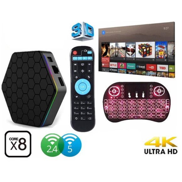 T95Z PLUS 4K TV Box Set-top Box Smart Streaming
