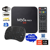 MXQ PRO Android 7.1.2 TV Box 1GB + 8GB KODI 17.6
