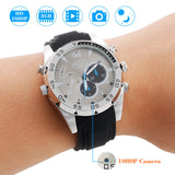 1080P Hidden Spy Camera Wrist Waterproof Watch