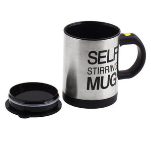 Self Stirring Coffee Cup Mugs Double Insulated Coffee Mug 400 ML