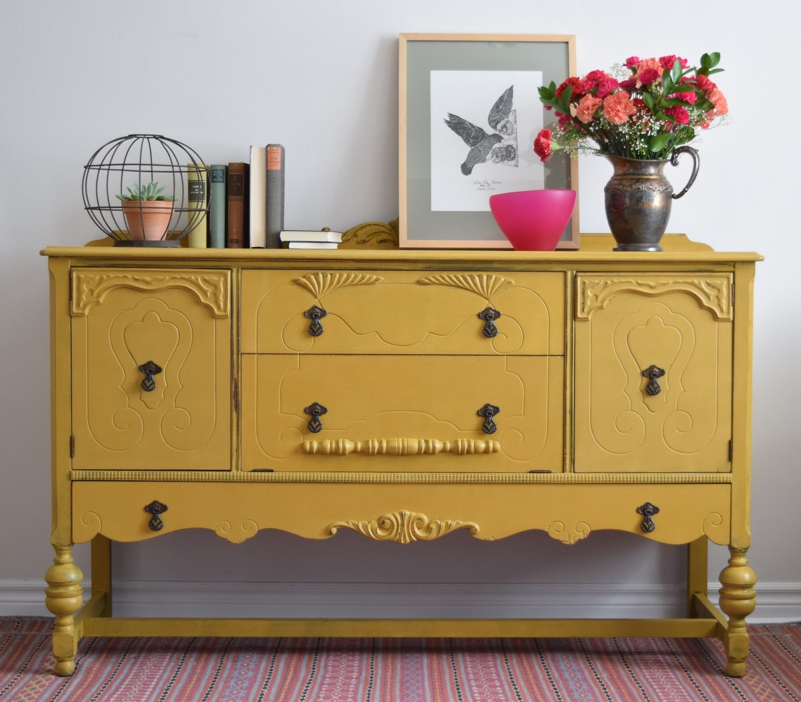 Marigold Yellow Milk Paint