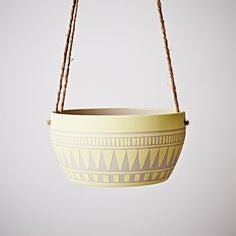 AZTEC PLANTER YELLOW - The Willowlands