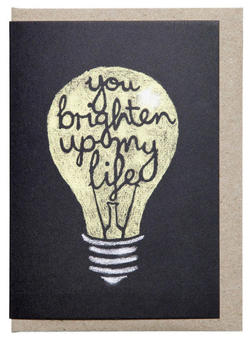 CHALKBOARD LIGHT BULB GIFT CARD - The Willowlands