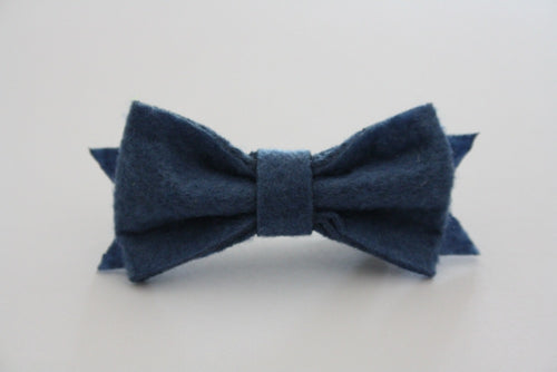 AEGEAN FELT HAIRCLIP - The Willowlands