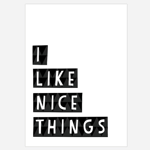 NICE THINGS - The Willowlands