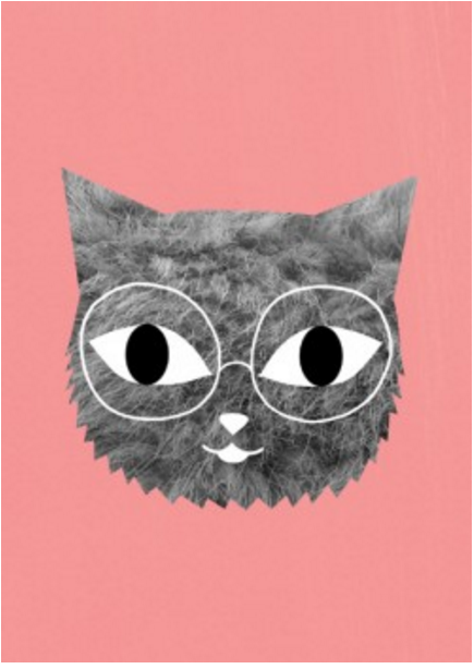 FUR AND GLASSES PRINT - The Willowlands