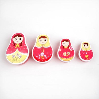 BABUSHKA DOLL NESTING LUNCH BOXES - The Willowlands